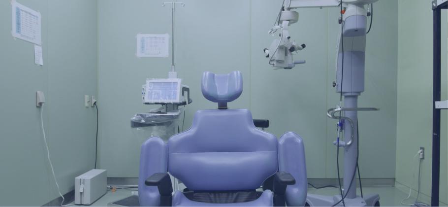白内障の日帰り手術に対応